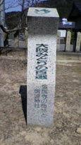 93 金熊寺の梅林と信達神社